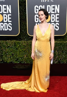 golden-globes-red-carpet-2019-claire-foy