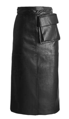 black-leather-fanny-pack-pencil-skirt