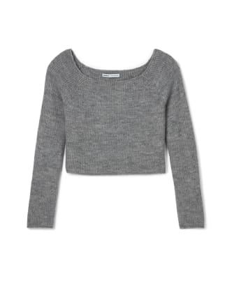Abbreviated Sweater Grey 8260754 $69.90