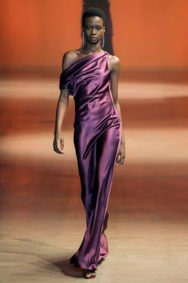 color purple nyfw trend fall 2019 Cushnie RF19 0084