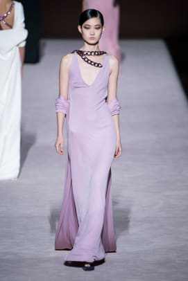 color purple nyfw trend fall 2019 Tom Ford RF19 0501