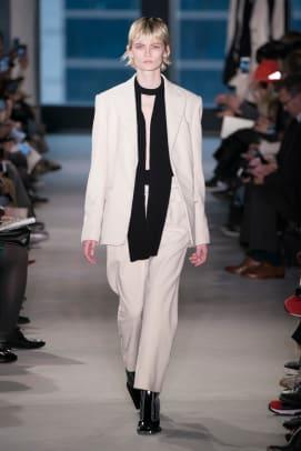 slouchy suiting trend nyfw fall 2019 proenza schouler