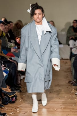 slouchy suiting trend nyfw fall 2019 Vaquera RF19 0391