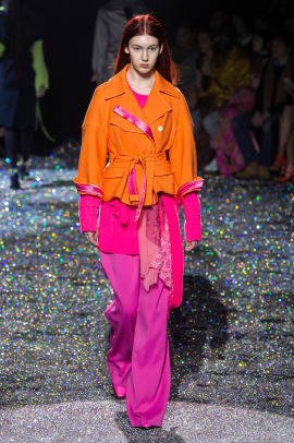 psychedelic color nyfw fall 2019 trend Sies Marjan RF19 0394