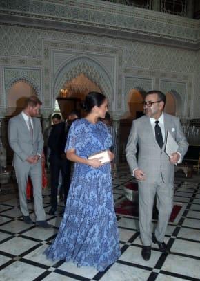 meghan markle duchess of sussex caroline herrara dress