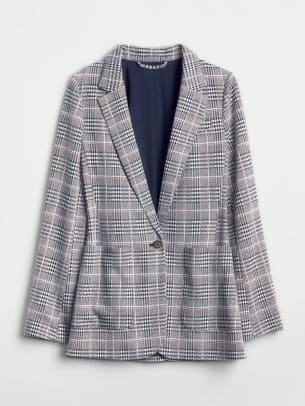 1_GAP MODERN PLAID BLAZER