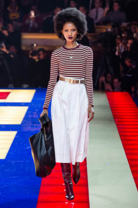 a4b0a646 Tommy Hilfiger and Zendaya's 'Battle of Versailles'-Themed Show Was ...