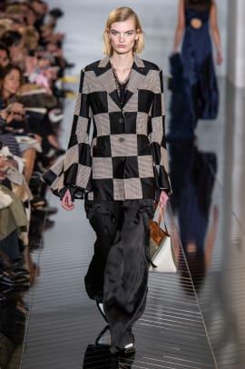 checkerboard print paris fashion week trend-6