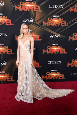 brie larson captain marvel press tour red carpet style-5