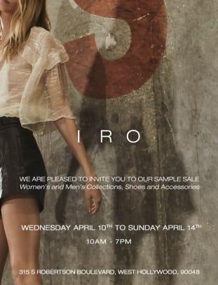 IRO - Public Invite