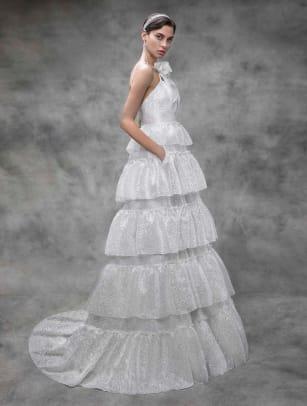 Victoria KyriaKides-bridal-2020-wedding-dress-metallic