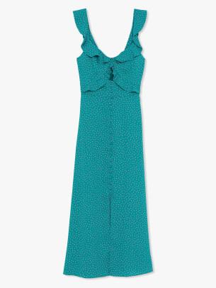 kate spade poolside dot dress