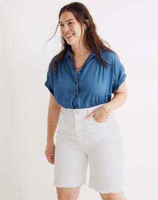 madewell bermuda shorts