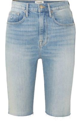 frame bermuda shorts