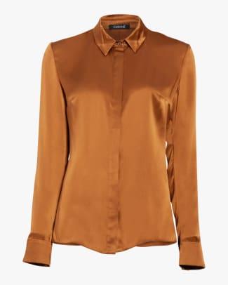 cushnie silk shirt
