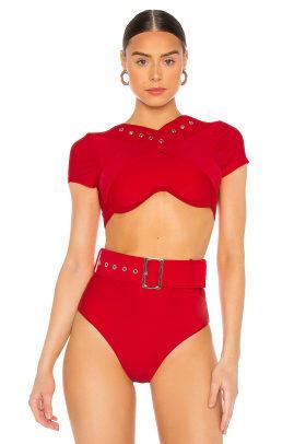 Andrea Iyamah Kamari Bikini Top Revolve