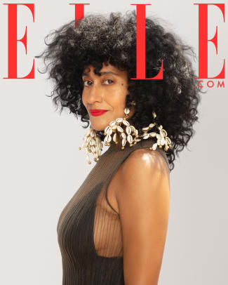 Tracee Ellis Ross Elle State of Black beauty cover