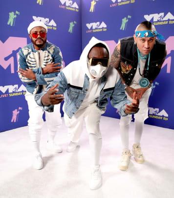 Black Eyed Peas Arrivals MTV VMAs 2020