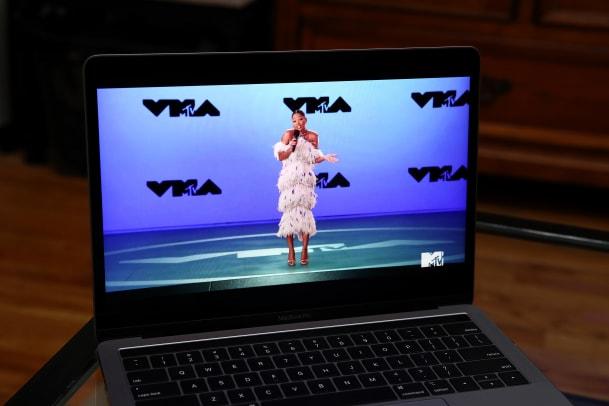 Keke Palmer wearing Ralph and Russo Hosting MTV VMAs 2020