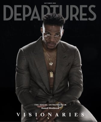 Russell Westbrook Departures September 2020 Cover