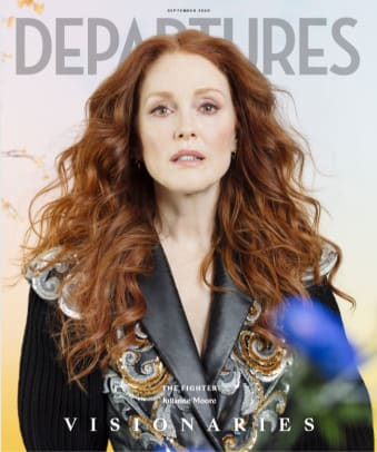 Julianne Moore Departures September 2020 Cover