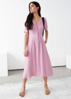 stories pink dress