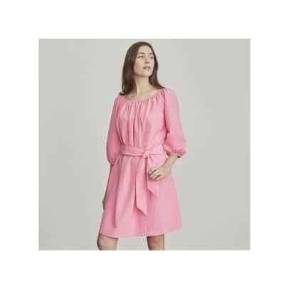 elizabeth james pink dress