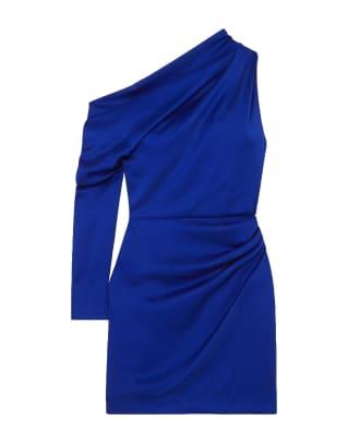 Cushnie Blue Dress Yoox