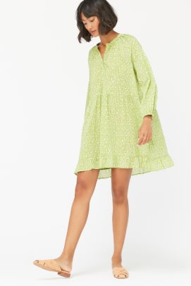 lacausa green dress