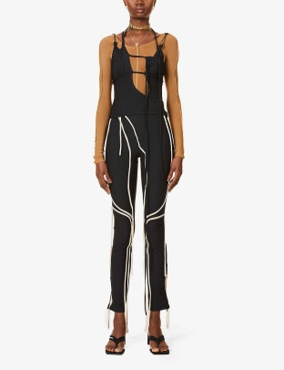 Ottolinger Strappy Jersey Top Selfridges