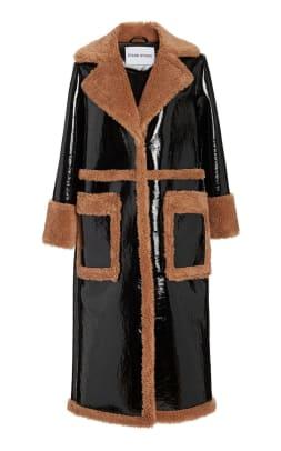 stand studio aubrey coat