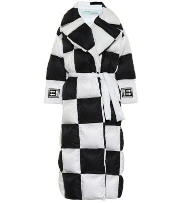 OFF-WHITE Quilted down coat MYTHERESA