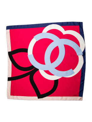 chanel scarf the realreal