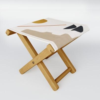 minimal folding stool