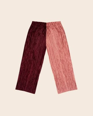 multicolor fabric pants plus size ethical tamara malas