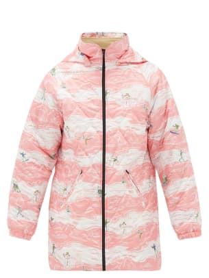 martine rose quilted jacket