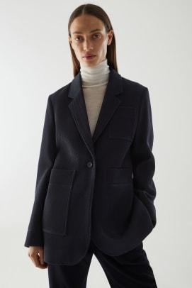 COS Organic Cotton Blazer