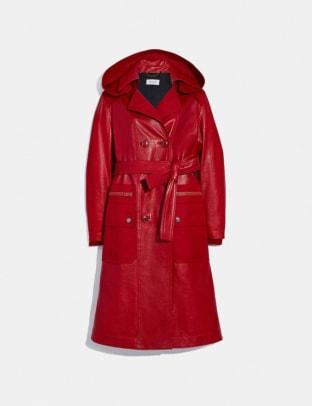 red coach coats