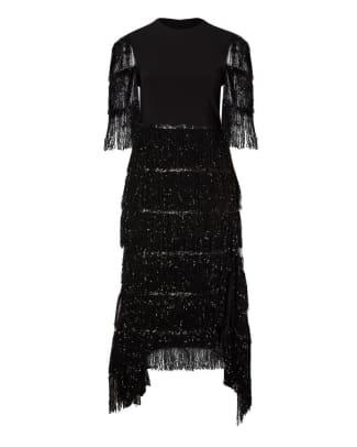 plus size statement sleeve dress