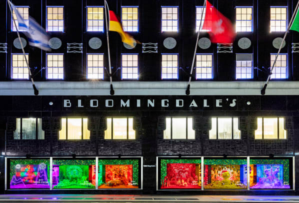 Bloomingdale's Full Windows