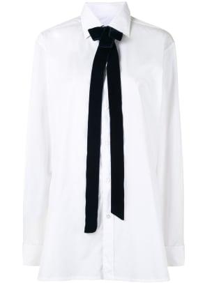 maison margiela white blouse