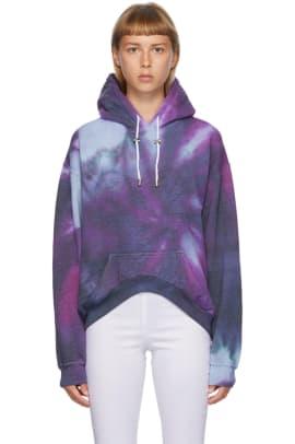 collina-strada-multicolor-spiral-tie-dye-round-hem-hoodie