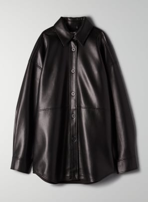 aritzia leather