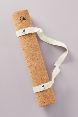 42 birds cork yoga mat