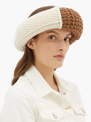 jw anderson knit headpiece