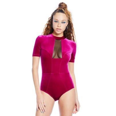 chromat mesh suit
