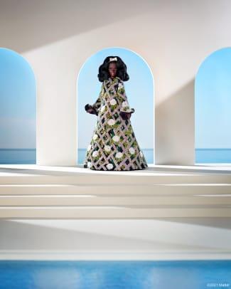 barbie richard quinn fashion week