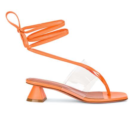 amina muaddi sandal