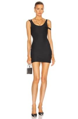 LaQuan Smith For FWRD Layered Mini Dress