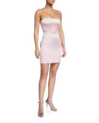 guage mini dress